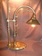 米国製1940s真鍮スタンドライト アンティーク照明 ビンテージライト デスクランプ 福岡