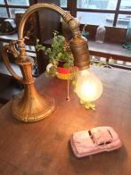 米国製1930sスタンドライトカスタム アンティーク照明 ビンテージライト デスクランプ 福岡