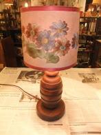日本製 1950sウッドスタンドライト アンティーク照明 ビンテージライト デスクランプ 福岡