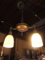 米国製 シャンデリア1930sアンティーク照明 ビンテージライト ランプ 福岡