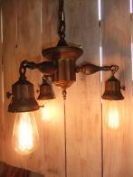 米国製1930sシャンデリア アンティーク照明 ビンテージライト ランプ 福岡