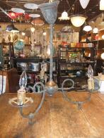 米国製 1900sガスシャンデリア アンティーク照明 ビンテージライト ランプ 福岡