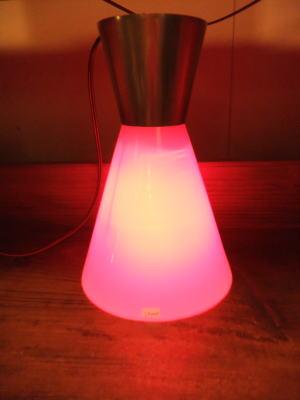 レッドペンダント 2枚目の写真 アンティーク照明 ランプ 福岡