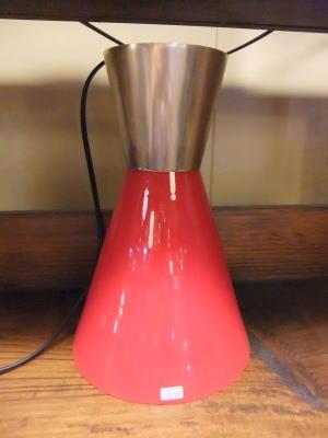 ルビーペンダント 1枚目の写真 アンティーク照明 ランプ 福岡