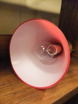 レッドペンダント 5枚目の写真 アンティーク照明 ランプ 福岡