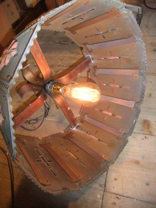 1970'sビクトリアンライト 写真2枚目 アンティーク照明 ビンテージ ランプ