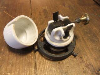 米国製1900sアンティーク照明 ビンテージペンダントライト ミルクシェード シーリング ランプ 福岡 写真3枚目
