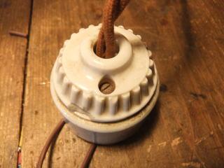 米国製1900sアンティーク照明 ビンテージペンダントライト ミルクシェード シーリング ランプ 福岡 写真7枚目