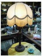 英国製1900s木製スタンドライト アンティーク照明 ビンテージライト デスクランプ 福岡