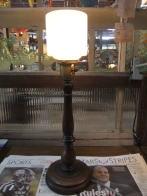日本製 1930s木製スタンドライト アンティーク照明 ビンテージライト デスクランプ 福岡