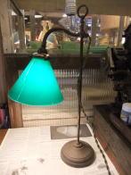 英国製1910sアイアンスタンドライト アンティーク照明 ビンテージライト デスクランプ 福岡