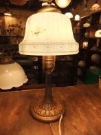 米国製1930sミルクシェードスタンドライト アンティーク照明 ビンテージライト デスクランプ 福岡