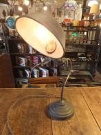 オリジナルスイベルスタンドライト アンティーク照明 ビンテージライト デスクランプ 福岡