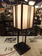 日本製 1930s木製スタンドライト 旅館 アンティーク照明 ビンテージライト デスクランプ 福岡
