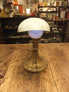 1940'sトランペットライト デスクスタンド 写真3枚目 アンティーク照明 ビンテージ ランプ