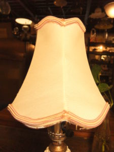 1950'sポーセリンランプ デスクスタンド  写真6枚目 アンティーク照明 ビンテージ ランプ