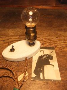 ポーセリンスタンド デスクスタンド 写真1枚目 アンティーク照明 ビンテージ ランプ