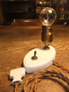 ポーセリンスタンド デスクスタンド 写真5枚目 アンティーク照明 ビンテージ ランプ