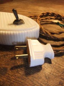 ポーセリンスタンド デスクスタンド 写真7枚目 アンティーク照明 ビンテージ ランプ