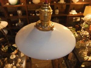 1930'sミルクペンダントライト アンティーク照明 ビンテージ ランプ