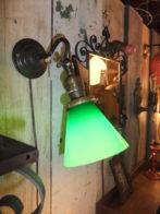 真鍮製ブラケットライト アンティーク照明 ランプ 福岡