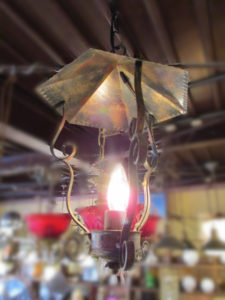 フランスアンティーク照明