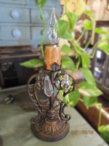 キャンドル式ランプ